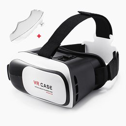 Wholesale VR Box D Virtual Reality Headset D Video Movie Game Glasses for quot quot IOS Android Smartphones iPhone Plus Samsung Galaxy S6 Edge