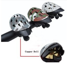 Wholesale Bicycle Bells Cycling Metal Ring Handlebar Bell Copper Bicycle Bell Universal Size Suitable For Handlebar Helmet Bicycle Bell Shape