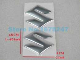 Motorcycle Chrome Soft Fuel Gas Tank Badge Emblem Fairing Body Decal Sticker GSXR 600 750 1100 1000 Hayabusa Intruder 1400
