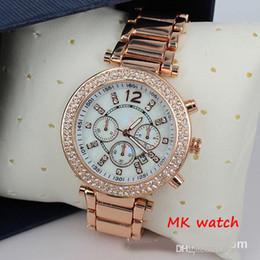 Wholesale Luxury Famous Designer Women rhinestone watches fashion luxury Brand Dress Michael ladies watch