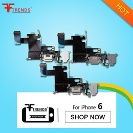 Wholesale for iPhone Dock Connector Charger Charging Port Flex Cable Headphone Audio Jack Replacement Repair Parts Tested Dropshipping