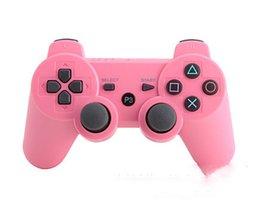 Descuento androide de la palanca de mando inalámbrico Controlador de juegos inalámbrico Bluetooth para PlayStation 3 Controlador de juegos PS3 Joystick Gamepad para juegos de video Android 10 colores