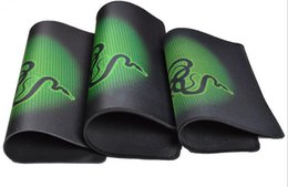Wholesale Gaming Mouse Pad Razer Speed Mouse Pad 290*250*2mm Mice Pad Mouse Mat 100pcs