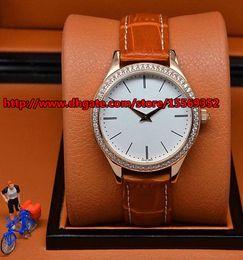 Luxurious business fashion classic fine durable import quartz Strip Nail scale diamond waterproof belt fine ladies watch