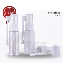Wholesale 20ml Nasal Oral Spray Bottle Medical Spray bottle PE Plastic Spray Bottle Nozzle spray bottle
