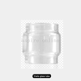 Wholesale Authentic Aspire Cleito Replacement Pyrex Glass Tube 5ml&3.5ml for Aspire Cleito Sub ohm Tank Cleito Pyrex Glass tube