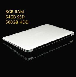 Wholesale 8GB Ram GB SSD GB HDD Ultrathin Quad Core J1900 Fast Running Windows system Laptop Notebook Computer