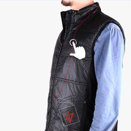 Wholesale Carbon Fiber Heat Vest Overcoat Coat Cold Ski Thermal Conductivity Warm Dress Apparel Cloths Cold Resistance Clothing Safety