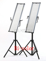 CAME-TV 1806B Bi-Color LED Studio Film Panel lights video lighting (2 Piece Set)