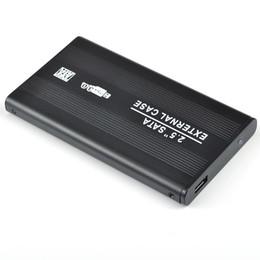 """Una caja portadiscos disco en Línea-Alta calidad S5Q 2.5 """"Sata al recinto externo del caso del disco duro de la impulsión de disco duro del USB 3.0 de la CAJA CADENA HDD libera el envío"""