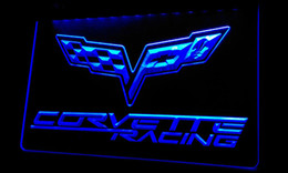 Ls218-b Corvette Racing Neon Light Sign