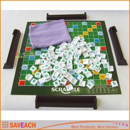 Wholesale 2016 New Original Scrabble Board game English crossword Spelling game Education Toys Learning Toys