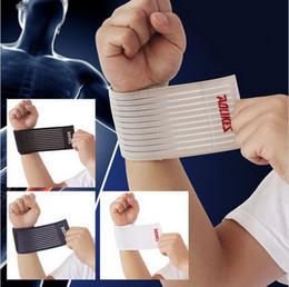 Wholesale DHL cm Adjustable fitness cotton strength bandage hand wrist straps sport wristbands support wrist protector carpal