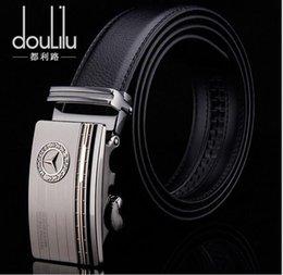 Wholesale 2016 New Real Leather Automatic Belts for Ben Men s Automatic Buckle Belts Men s Business Belt