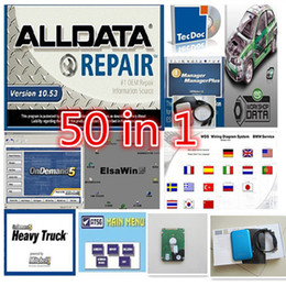 Wholesale Latest Alldata Software auto repair data Mitchell on demand estimator for all cars newest version software in TB HDD