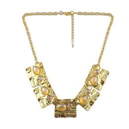Wholesale brand women s fashion accessories geometric necklace jewelry accessory attachment