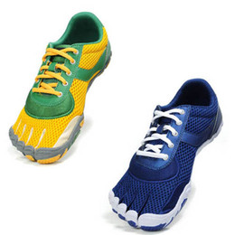Wholesale New man five fingers toe mountain climbing walking shoes Elastic band breathable men Casual Shoes