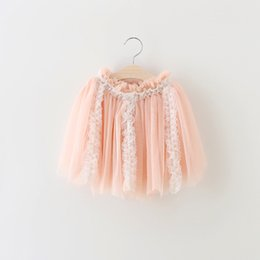 Wholesale Cute Clothes For Girls 3t - Cute Baby Girls Skirts 2016 New Kids Lace Tulle Tutu Skirts Baby Fluffy Skirt Girls Summer Dresses Elegant Children Clothes for 2-7T