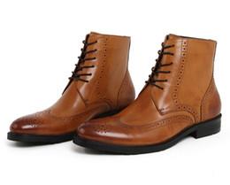 2017 mens chaussures marron confortables Chaussures de sport en cuir oxfords pour homme mens chaussures marron confortables sur la vente