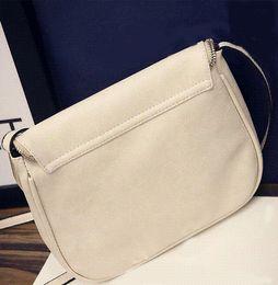 Tassel Womens Bag PU Leather Messenger Bag Solid Causal Zipper Saddle Sling Crossbody Shoulder Bags Casual Small Handbag Purse