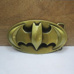 BuckleHome fashion bat man belt buckle with antique brass finish FP-03612 with continous stock free shipping