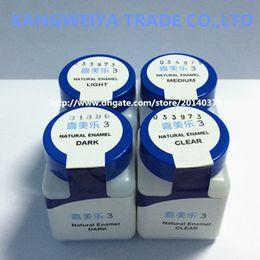 Ceramco 3 Ceramic powder Natural Enamel LIGHT CLEAR DARK MEDIUM...etc. 28.4g Free shipping
