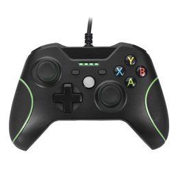Xbox dual en venta-Vibración del mando aerodinámico dual para Xbox Uno con 4 indicadores LED y audio jack de 3,5