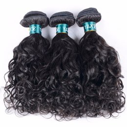 3Pcs Lot 8A Mongolian Water Wave Hair Weft Natural Color Dyeable Hair Free Shipping Hair Future Time Beauty Hair Products