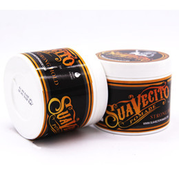 New Suavecito hair oil wax mud Hair Slicked Back Hair Oil Wax Mud Restoring Ancient Ways Very Strong Hold for men