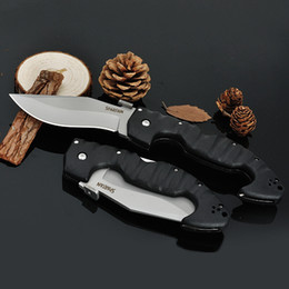 Cold steel spartan folding pocket knife 440c 56HRC outdoor hunting tactical knives self-defense camping survival gear edc tools