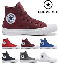 Wholesale Original Chuck Tay Lor All Star II Shoes For Men Women Brand Sneakers Running High Top Classic Skateboarding Canvas
