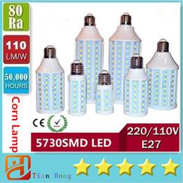Led maïs Lumières E40 B22 E27 SMD 5730 haute puissance 30W 40W 50W Led Ampoules 360 Angle AC 85-265V UL + CE e27 smd ce for sale à partir de e27 ce smd fournisseurs