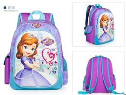 Hot Sale Infanta Sofia 3D Cartoon Kid School Bag Princess Sophia 3D Cartoon Children School Bag Girls School Bag