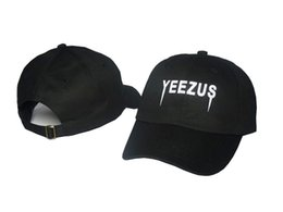 wholesale Outdoor Visor black pink white gray Strapback YEEZUS hats 6 panel snapback POLOs Baseball cap DENIM HAT