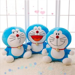 Wholesale 25CM Dora Un Sueño Doraemon Muñeca Cat Muñeca Muñeca De Gato Viking Oversized Juguetes De Juguetes De Halloween Regalo De Navidad De Juguete