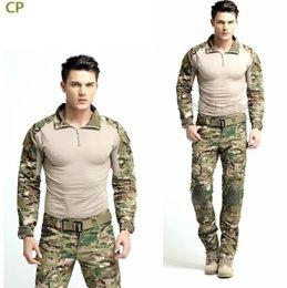 Wholesale Best selling Multicam Combat Uniform Gen3 shirt pants Military Army Suit with knee pads