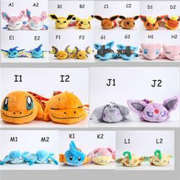 Wholesale New Cartoon Poke mon plush toys POKE Pikachu Stuffed Animals cm Strap Keychain car ornaments Children best gift