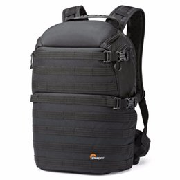 Wholesale New Lowepro ProTactic AW Camera Photo Tripod Laptop Backpack Case DSLR Shoulder Waterproof Shockproof Polyester Bag for Canon Nikon