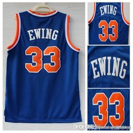 Wholesale New York Patrick Ewing Jersey New REV Patrick Ewing retro throwback Jerseys wholesales accept mix offer