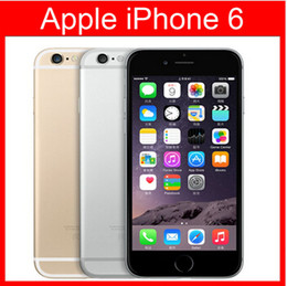 Refurbished Original Apple iPhone 6 Support fingerprint Cell Phone 4.7 inch ROM 16GB A8 IOS 8.0 FDD Unlocked refurbished cellphone