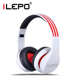 Wholesale Bluetooth Headphones Stereo Bluetooth Music Playback Wireless Headset Handsfree Music Player for iPhone Samsung Phones Tablet Computer