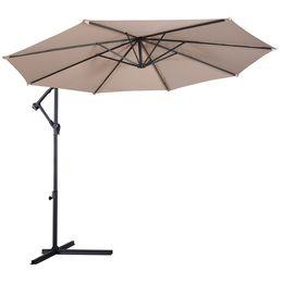 Wholesale 10 Hanging Umbrella Patio Sun Shade Offset Outdoor Market Cross Base
