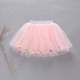 2017 faldas para las muchachas de los niños Baby Girls TUTU Faldas 2016 Verano Colorful Ball Net Hilado Pettiskirt para Niños Niños Short Party Dance Falda H07 faldas para las muchachas de los niños en venta