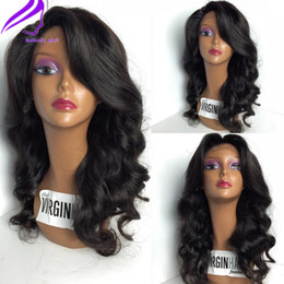 Japanese Heat Resistant Fiber Wigs Synthetic Wavy Lace Front Wig With Baby Hairs Glueless Lace Wigs for Black Woman