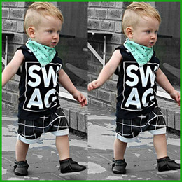 boys summer clothes suits short sleeve o-neck t-shirt stripes half pants fashion quality children clothing set fast free shipping