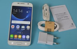 Wholesale Best version Goophone S7 Real G LTE Real octa core GB RAM GB ROM MP Android Lollipop Smartphones