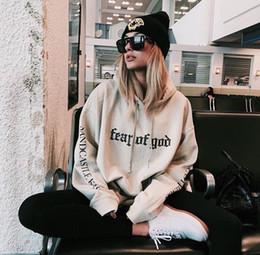 Wholesale Hot Sale justin bieber fear of god hoodies men autumn brand hip hop skateboard hoodies sweatshirts men causal yeezus pullover hoodie