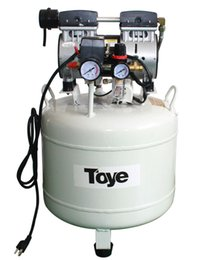 Wholesale Most Popular High Quality One By Two Dental Chair Silent Oilless Air Compressor CE Certificate Piston Type Durable Life Time White Color