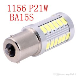 Wholesale 2nd Generation BA15s SMD LED Lights Bulb Replacement Single Contact Bayonet Base Turn Signal Brake Light Lamp