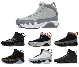 Wholesale 2016 air retro IX man basketball shoes cool grey Anthracite Barons The Spirit doernbecher release countdown pack sports Sneaker shoes